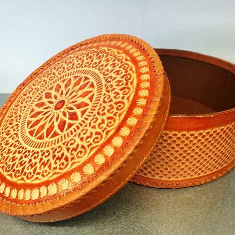Handmade Leather Box